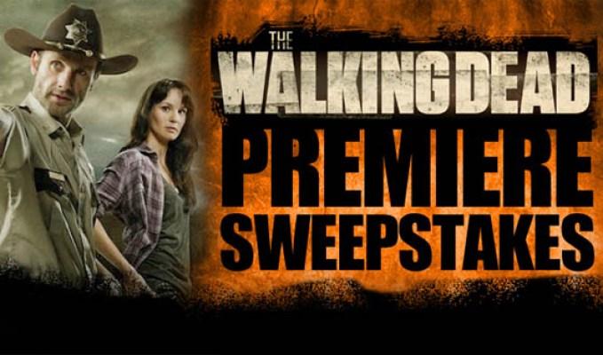Walking Dead Fan Premiere Sweepstakes
