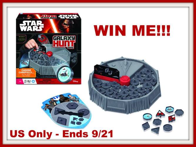Wonder Forge Star Wars The Force Awakens Galaxy Hunt Game Giveaway