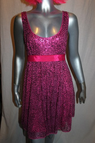 Betsey Johnson Sequin Babydoll Front