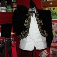 Thrifty Finds: Velvet Matador Bolero and Tuxedo Shirt