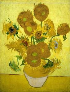 The Dutch artist painted five versions of the Sunflowers — Sunflowers, 1889 © NATIONAL GALLERY