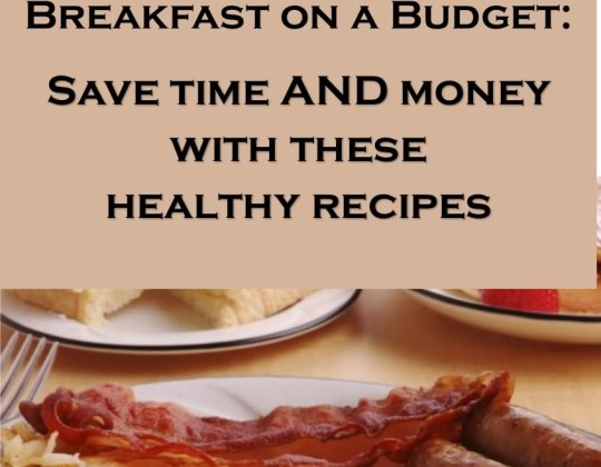Save time and money with these easy breakfast ideas, they're even healthy recipes for breakfast, too! Frugal meal planning, breakfast ideas, quick breakfasts, breakfast recipes