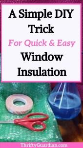 diy bubblewrap window insulation