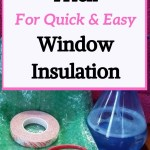 diy bubblewrap window insulation