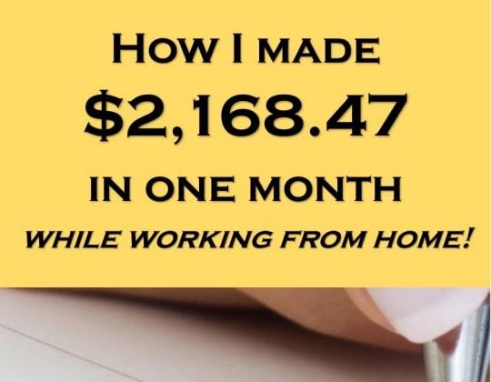 make money from home, make money online, work online, ebates, textbroker, infobarrel
