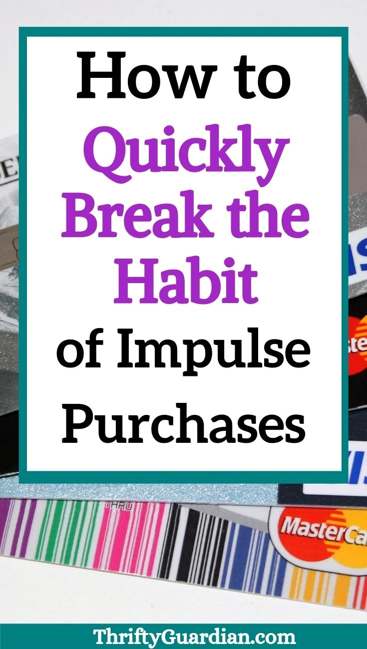 identify why you buy stop impulse buying