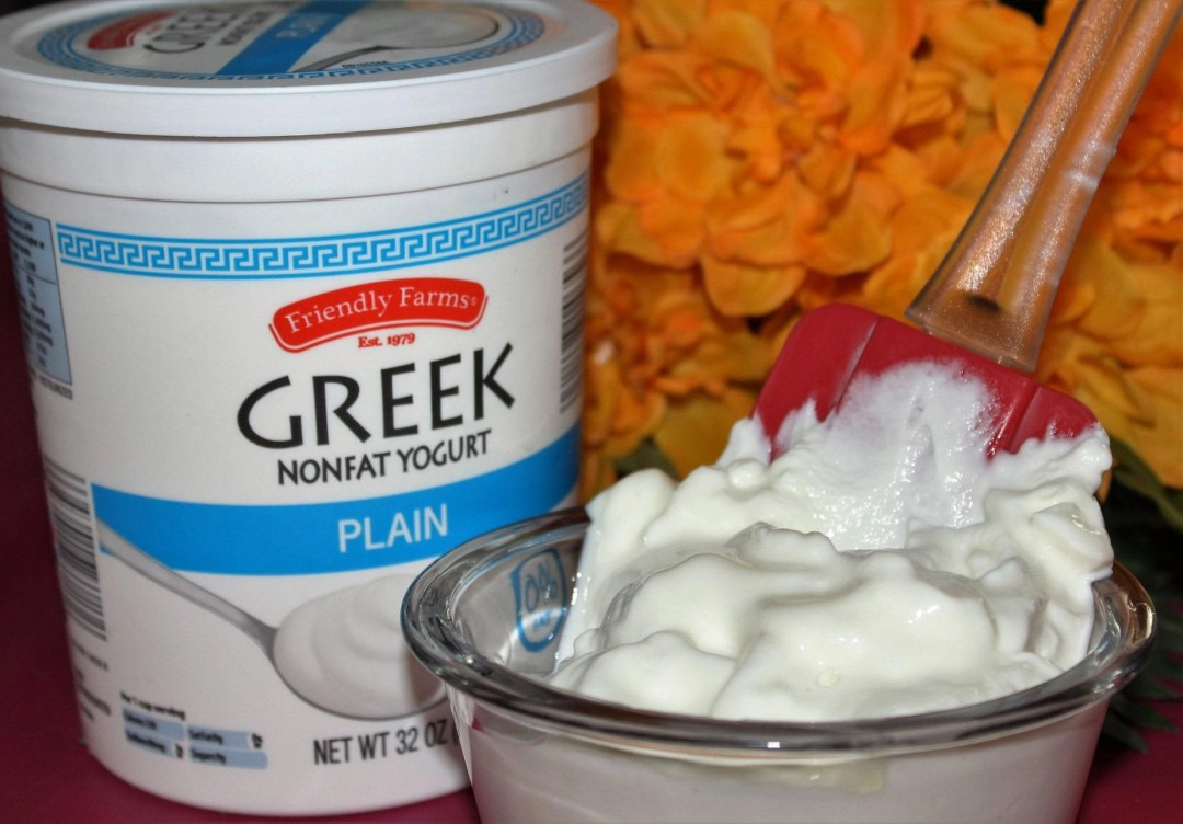 greek yogurt for sunburn relief