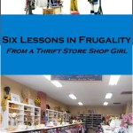 Shopping in a thrift store, living frugal, goodwill finds, lessons in frugality, how to live cheaply, live frugally