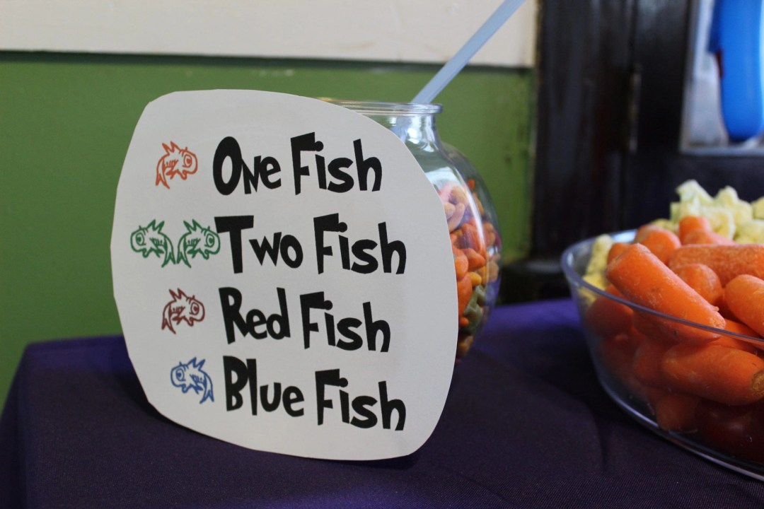 One fish two fish food idea