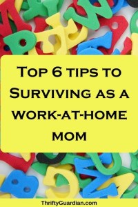 Survive as a Work-at-Home Parent