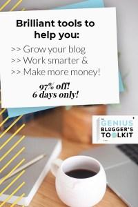 genius blogger toolkit review