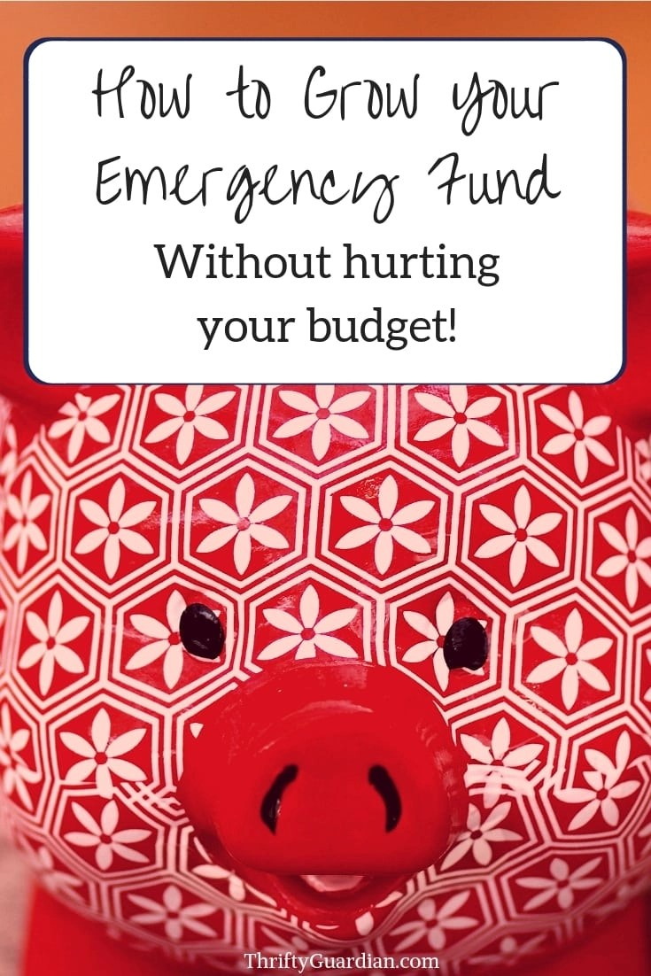 Emergency fund - what is it and how to get one. How to save money when you don't have any - Financial advice, save money, live frugal, frugal living tips, get out of debt, budget, financial freedom, finance tips