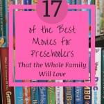 best movies for preschoolers