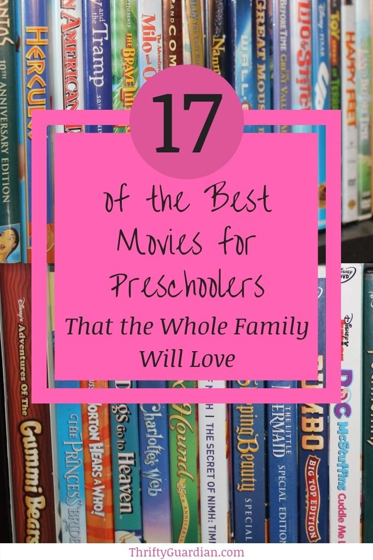 The best movies for preschoolers that the whole family will also enjoy watching, from classics to modern day, a perfect list of great movies for kids! Ideas for rainy day activity, slumber party fun, or cozy family movie night.