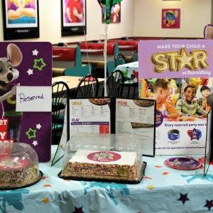 Chuck E Cheese Birthday Party Review