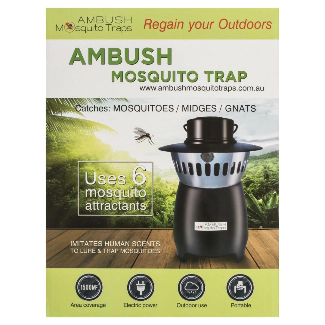 Ambush mosquito trap