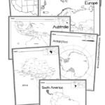 Free My Continents Passport Craft