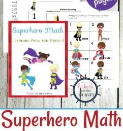 Free Superhero Math Games \u0026 Activities - Thrifty Homeschoolers [ 1100 x 735 Pixel ]