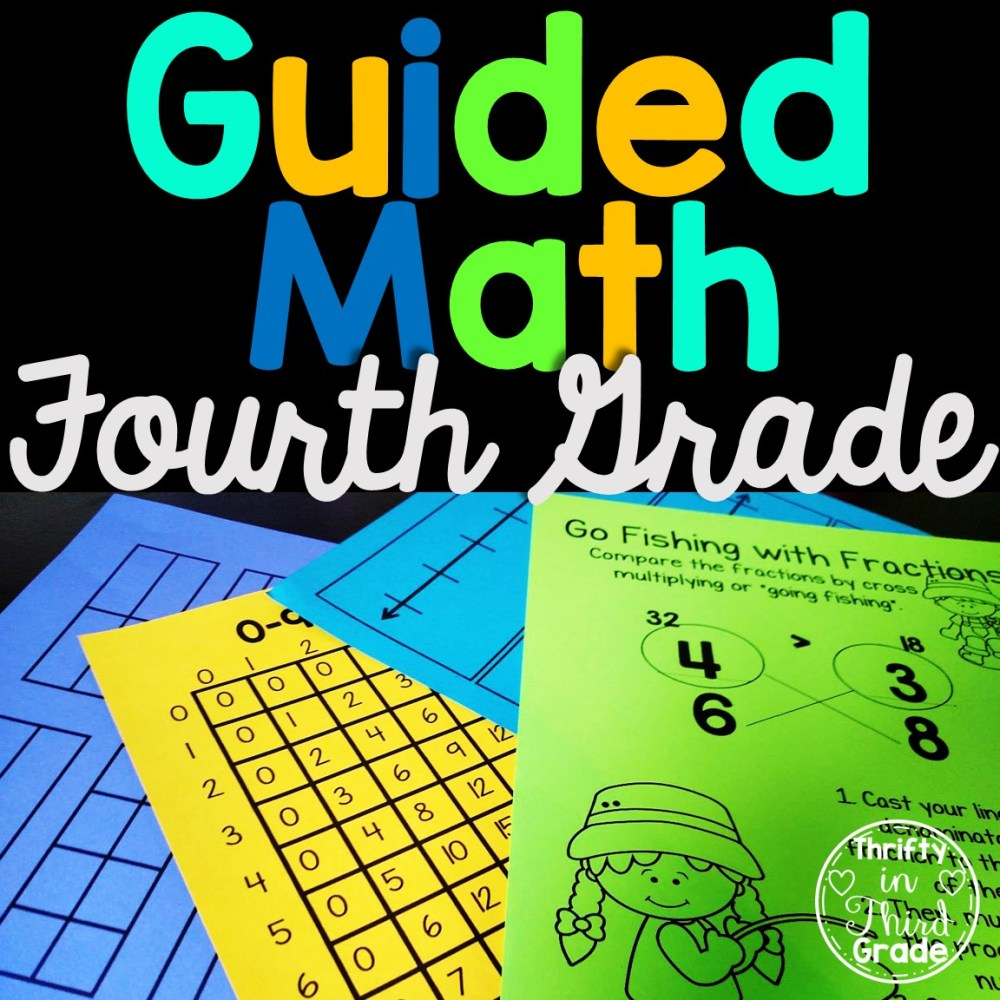 medium resolution of 4th Grade Guided Math -Year Long Bundle - Thrifty in Third Grade