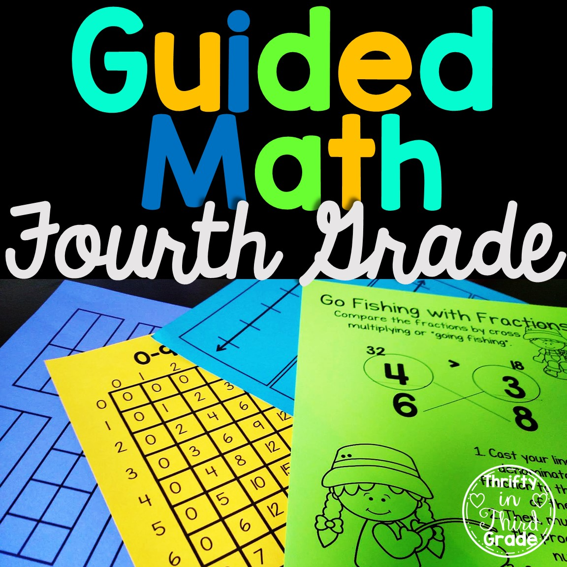 hight resolution of 4th Grade Guided Math -Year Long Bundle - Thrifty in Third Grade