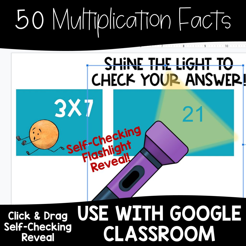 Multiplication Fact Fluency Practice