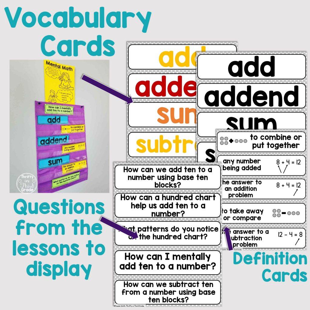 1st Grade Guided Math Unit 4 Addition And Subtraction