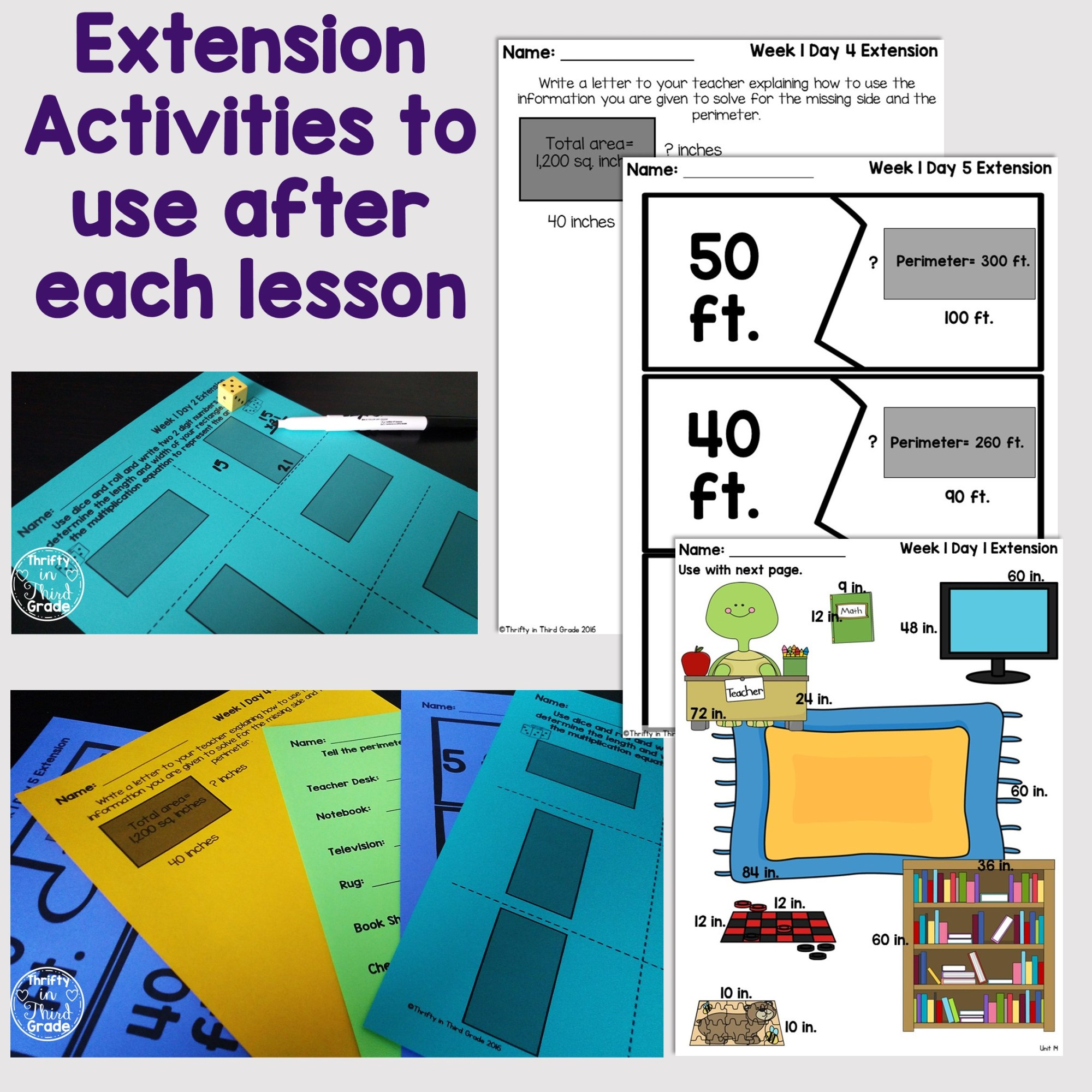 hight resolution of Area And Perimeter Worksheets For 4th Grade   Printable Worksheets and  Activities for Teachers