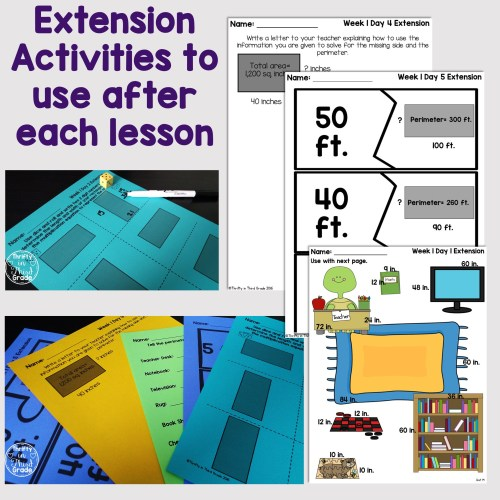 small resolution of Area And Perimeter Worksheets For 4th Grade   Printable Worksheets and  Activities for Teachers