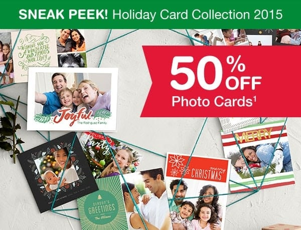 Walgreens 50 Off Photo Cards Thrifty Jinxy