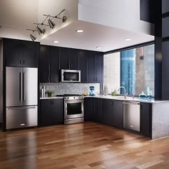 Best Buy Kitchen Aid Commercial Refrigerator Transform Your With The New Kitchenaid Collection At Every Time I Watch A House Remodeling Show Drool Over Brand Beautiful Kitchens Modern And Sleek Looking Appliances Can Help