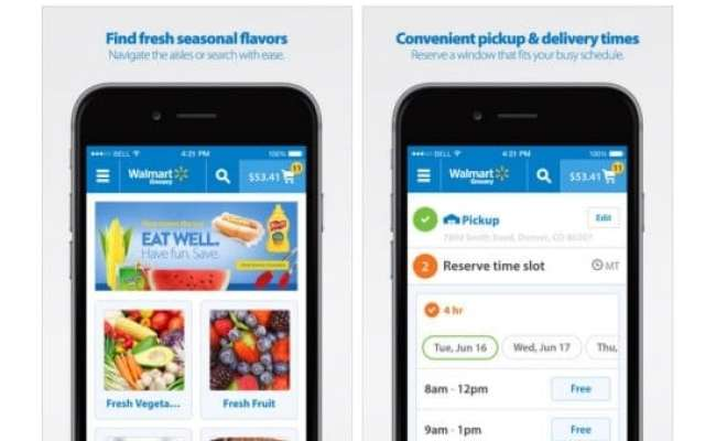 Walmart Online Grocery Pickup Saving Time In The Twin