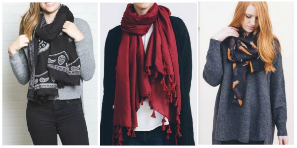 Beautiful Fall Scarves Only $6.99 Shipped!