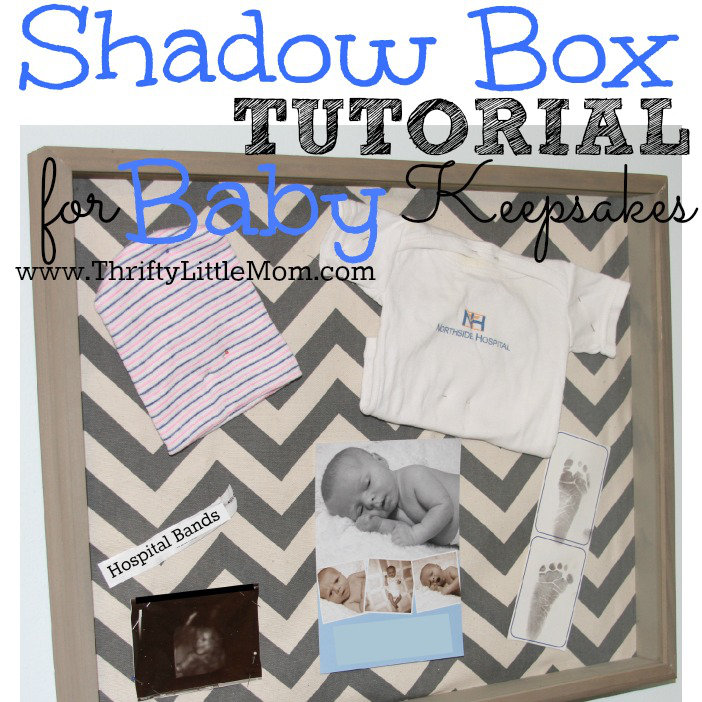 baby shadow box for
