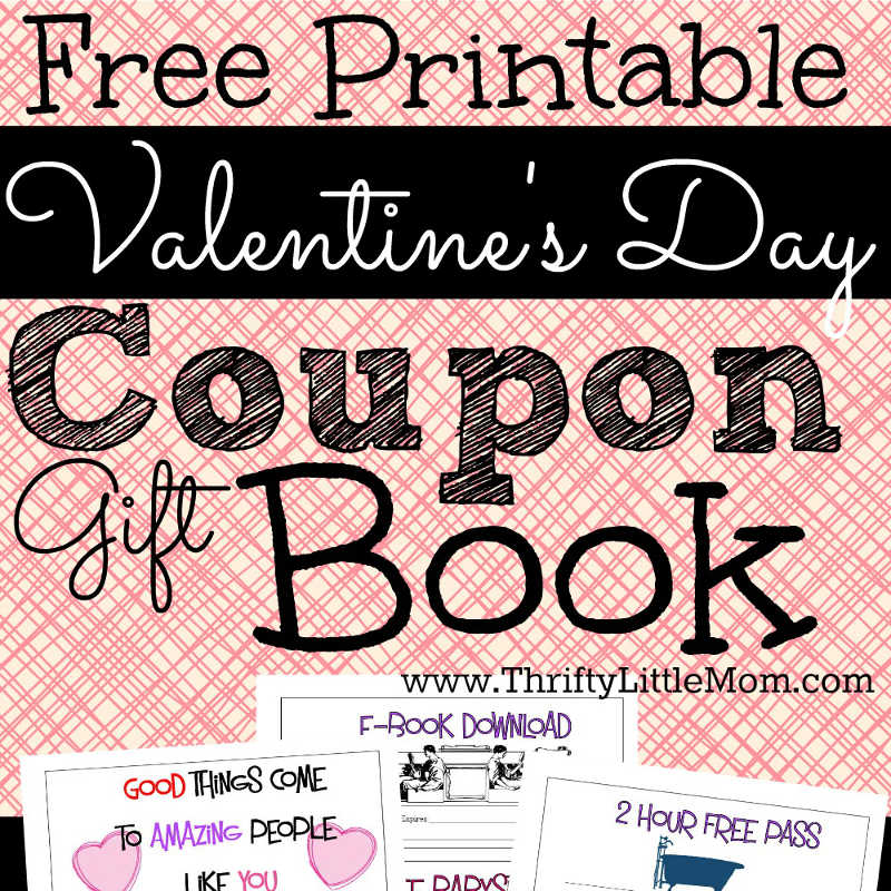Printable Coupons For Your Valentine Thrifty Little Mom