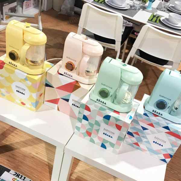 Beaba Babycook Macaron Collection | 65 Top Baby Products for 2018 from the ABC Kids Expo