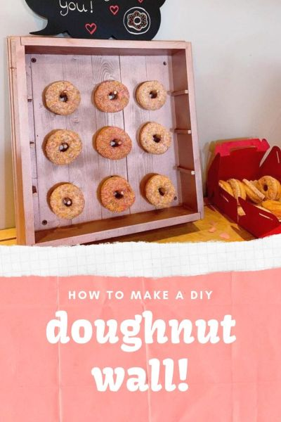 how-to-make-a-doughnut-wall