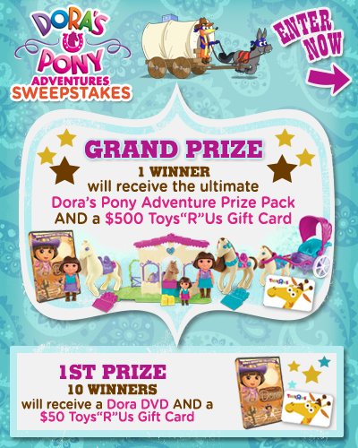 Nick Com Enter To Win : enter, Enter, Dora's, Adventures, Sweepstakes, Thrifty, Momma, Ramblings