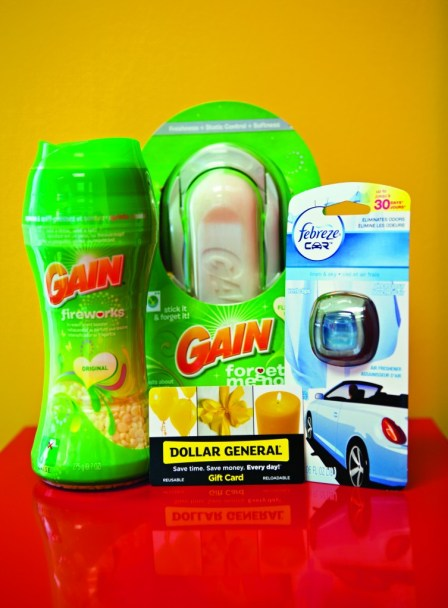 laundry scent booster Gain prize pack giveaway