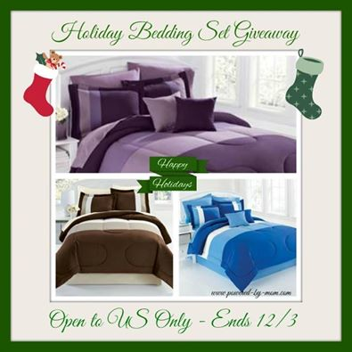 Brylane Home Bedding Set for the Holidays Giveaway