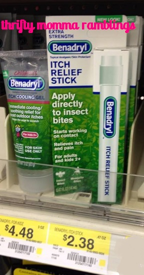 Benadryl Itch Relief Stick Just 38¢ at Walmart after Coupon!   Thrifty Momma Ramblings