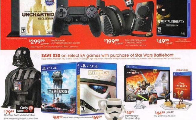 Game Stop Black Friday Ad 2015 Thrifty Momma Ramblings