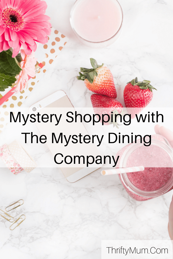 mystery dining company title page for Pinterest