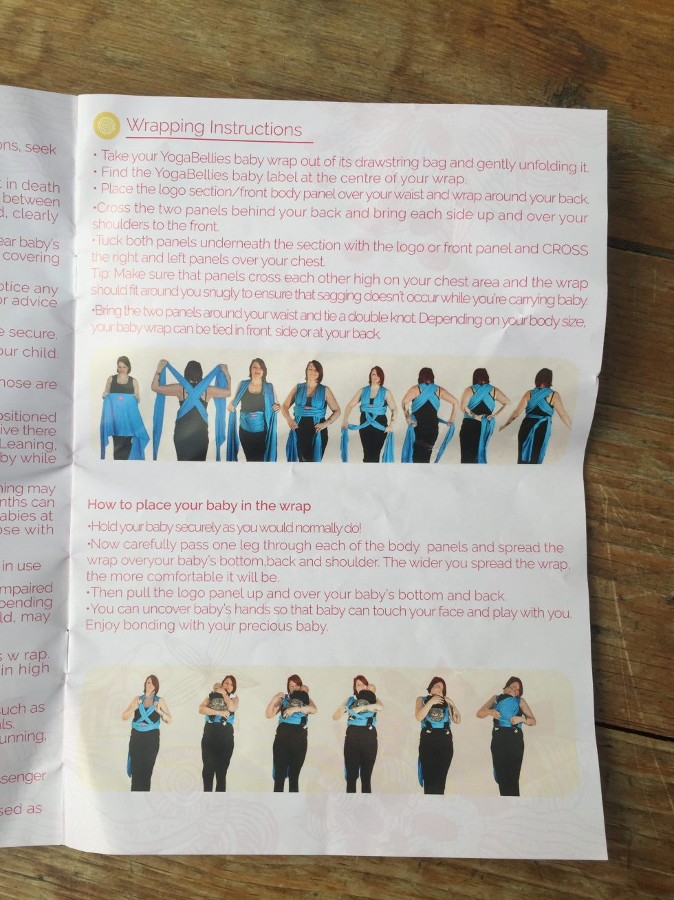 yogabellies instructions