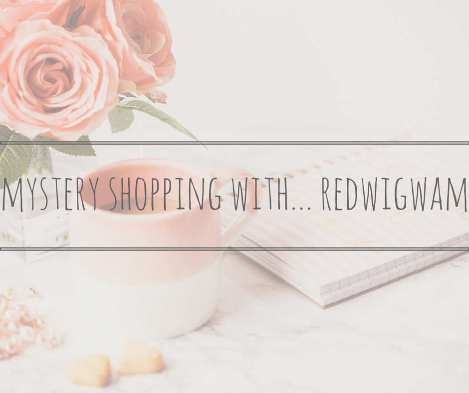 mystery shopping with red wigwam