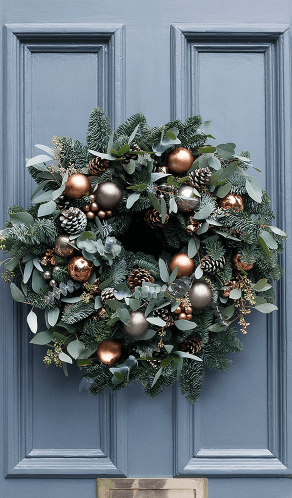 cox and cox wreath