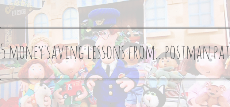 5 Money Saving Lessons From Postman Pat