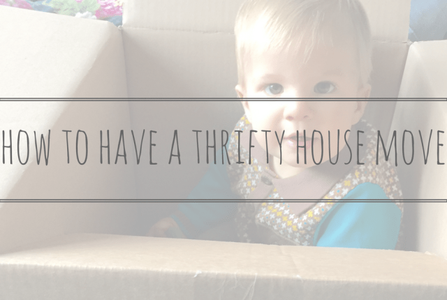 thrifty house move