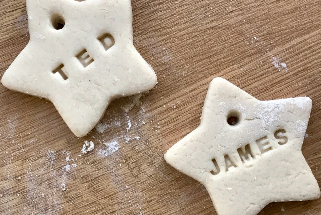 simple salt dough decorations