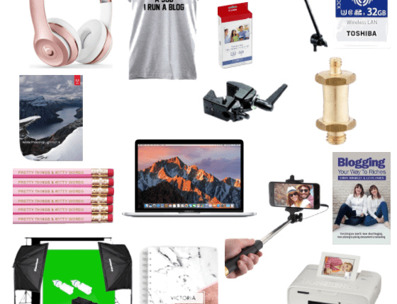 blogger's wish list