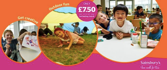 Sainsbury's summer holiday childcare